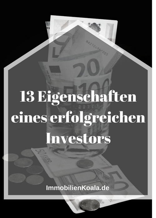 13 Eigenschaften eines erfolgreichen Investors