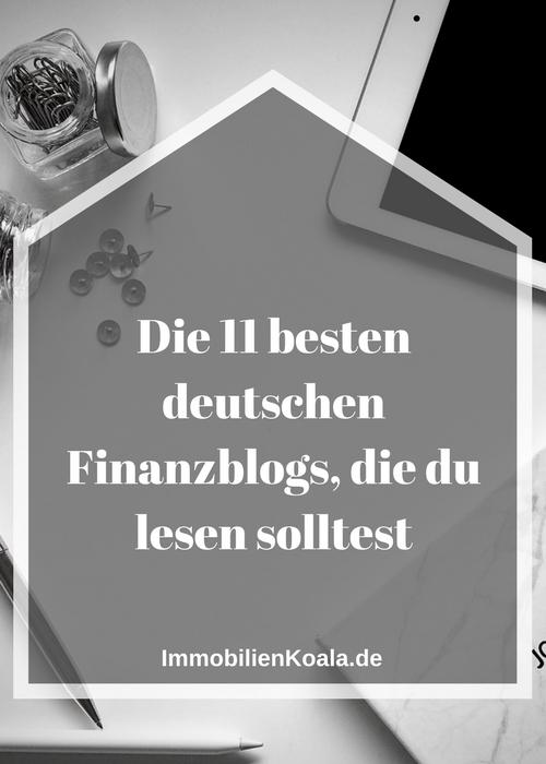 Die 11 besten deutschen Finanzblogs, die du lesen solltest